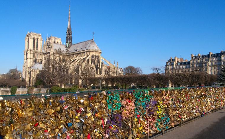 Cadeados de Amor – Onde encontrá-los