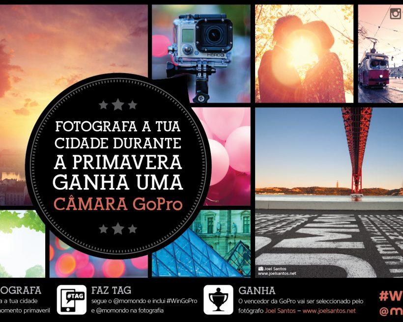 Fotografa a Primavera na tua cidade e ganha uma câmara GoPro