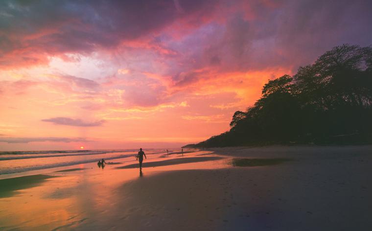 As melhores praias da Costa Rica