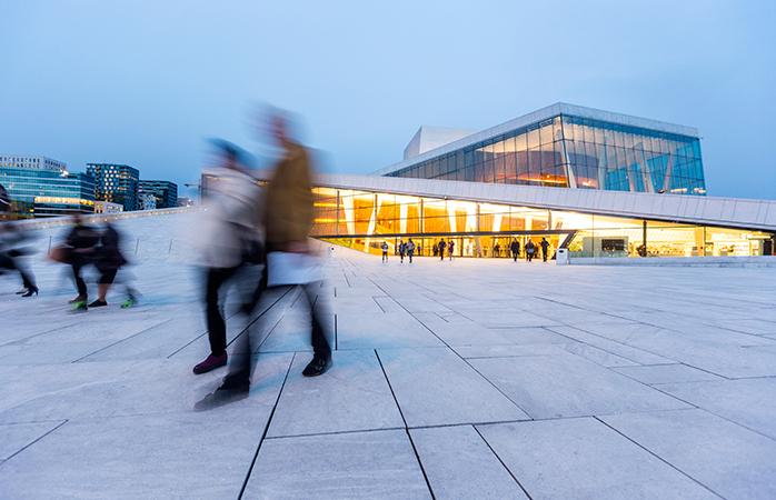 A altura mais barata para visitar Oslo