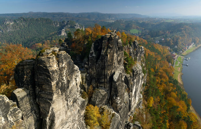 Don't let the name fool you, the Saxon Switzerland National Park is a German natural treasure.