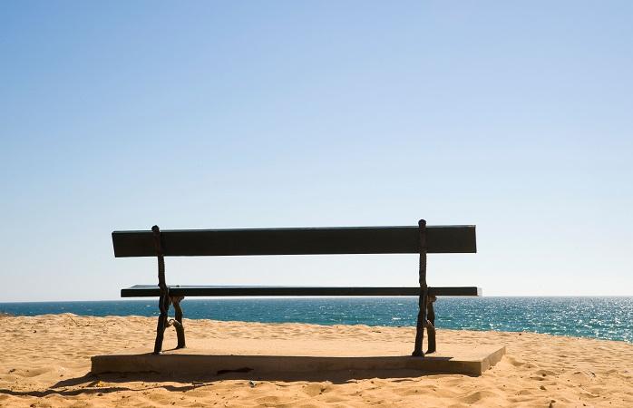 Descanse na sua ida para a Praia da Barrinha, Algarve, Portugal