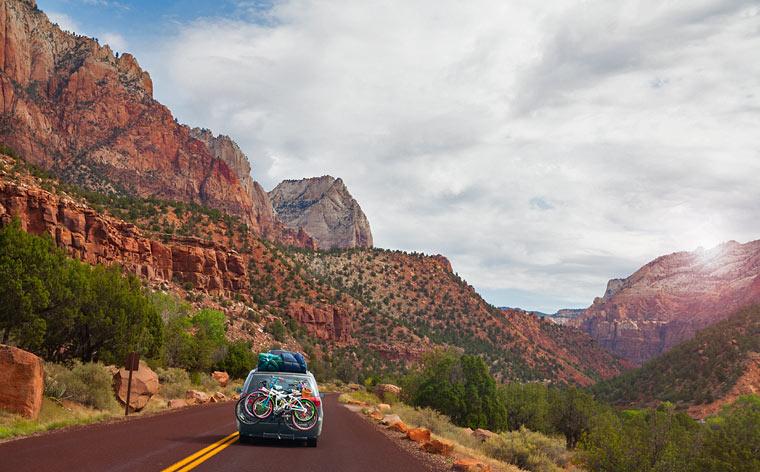 Road Trip nos Estados Unidos: Descobre a região dos desfiladeiros do sudoeste americano