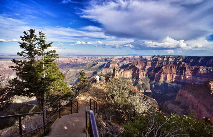 Não há nada mais grandioso que o Grand Canyon – testemunha a Margem Norte antes de fechar para o Inverno
