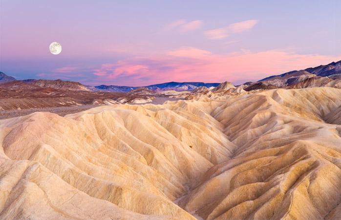 Marte – ou Zabriskie Point em Death Valley?
