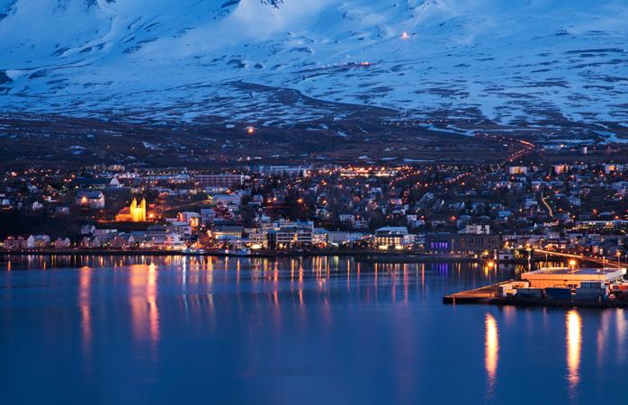 Akureyri de noite