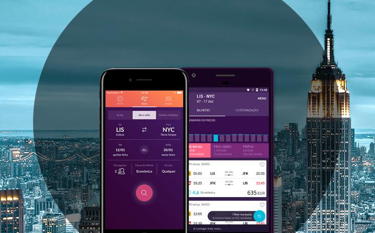 Gratuita, gira e intuitiva: a tua app preferida para planear viagens
