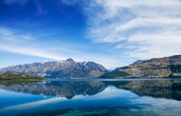 Lago Wakatipu – é fácil perceber porque é que equipas de filmagem adoram este lugar