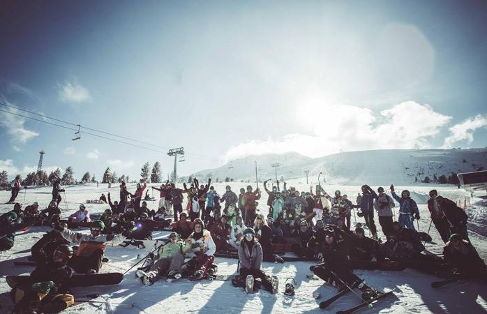 Dirige-te para o Horizon Festival em Andorra para bons momentos na neve