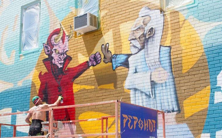 10 festivais de arte urbana coloridos este Verão
