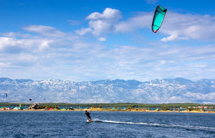 A Lagoa de Nin – o lugar ideal para fazer kitesurf