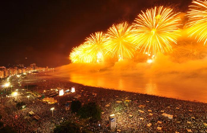 Vive a Passagem de Ano numa das praias acolhedoras do Rio