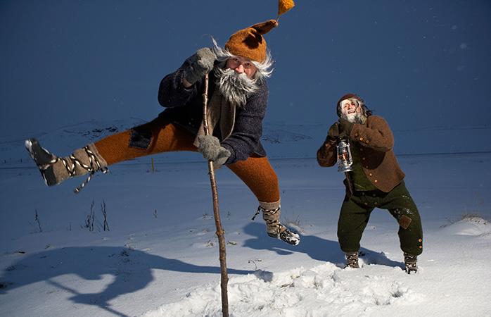 Os Yule Lads Islandeses que se soltam nesta altura do ano são uma das mais malandras e divertidas tradições de Natal.