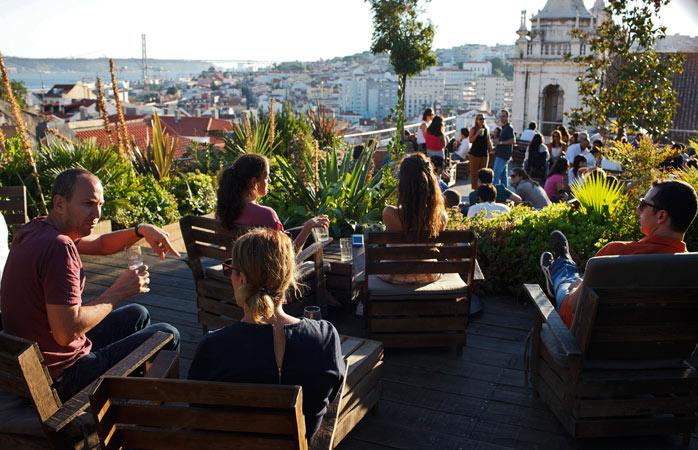 Road trip Portugal - Aproveita a vista fantástica do concorrido bar de telhado Park