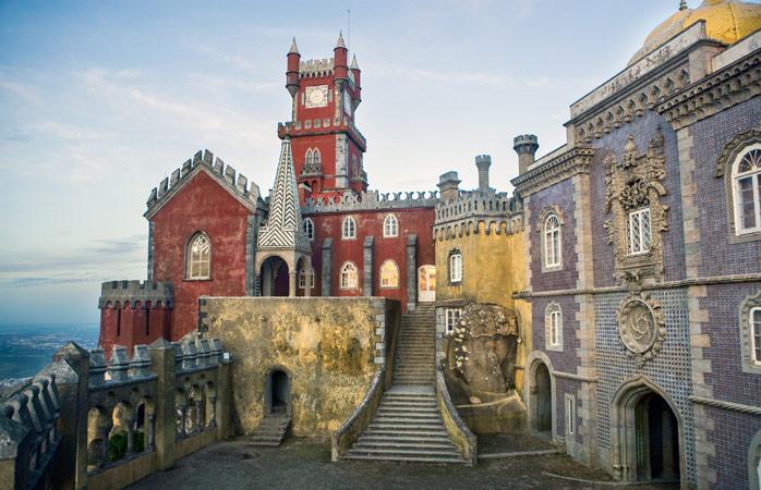Road trip Portugal - Visita o encantador Palácio da Pena no alto da Serra de Sintra