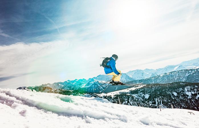 As pistas para esquiar de Baqueria Beret são conhecidas pelas suas boas condições