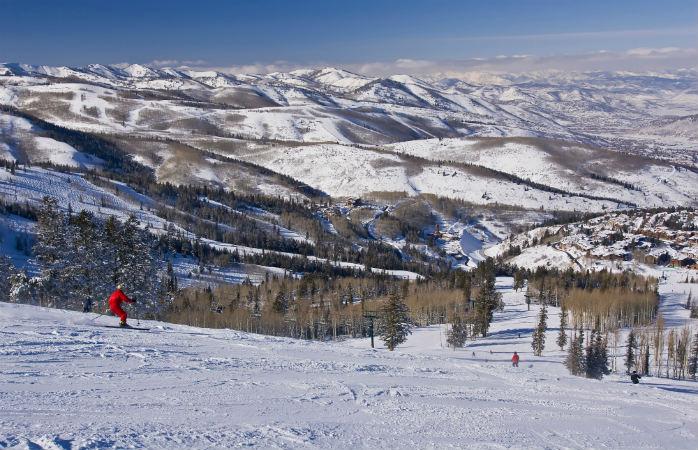 Deer Valley é só ski – os snowboarders não entram, desculpem…