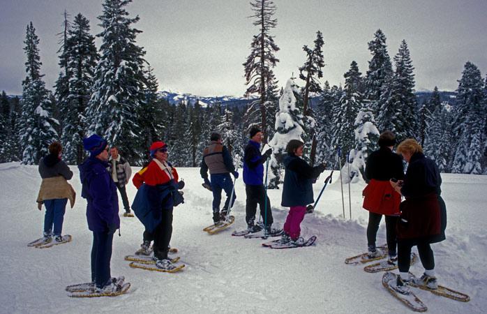 Calça as tuas raquetes de neve e começa a esquiar – no Parque Nacional de Yosemite