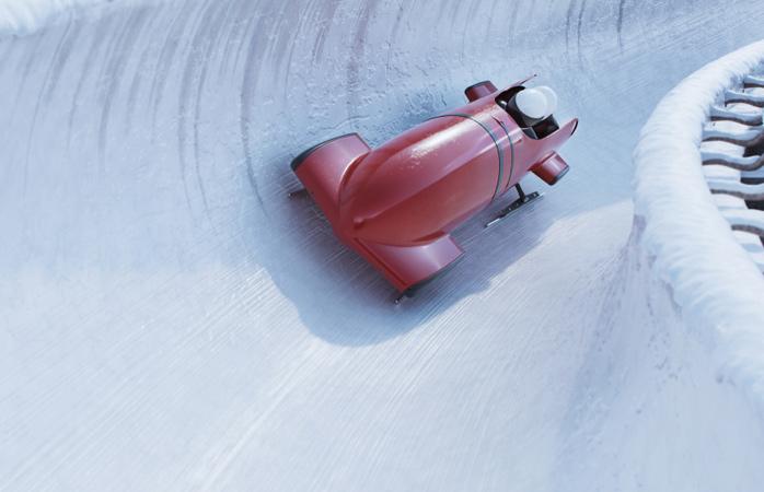 Visita o Parque Olímpico de Calgary para umas férias de inverno diferentes, e um bobsleigh