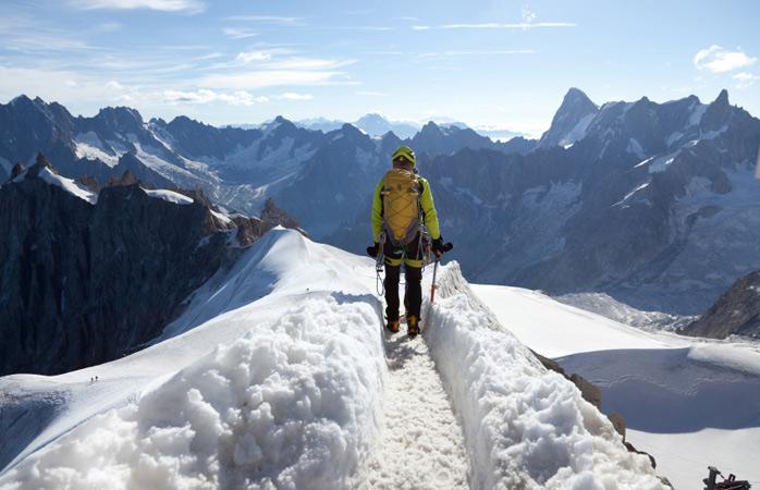 Enfrenta os elementos com montanhismo em Mont Blanc