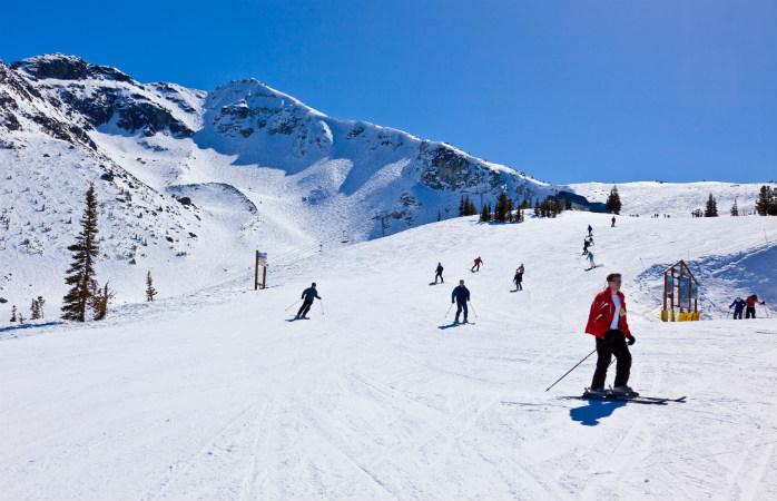 As pistas de ski bem arranjadas de Val d'Islere, servem a qualquer nível de esquiadores