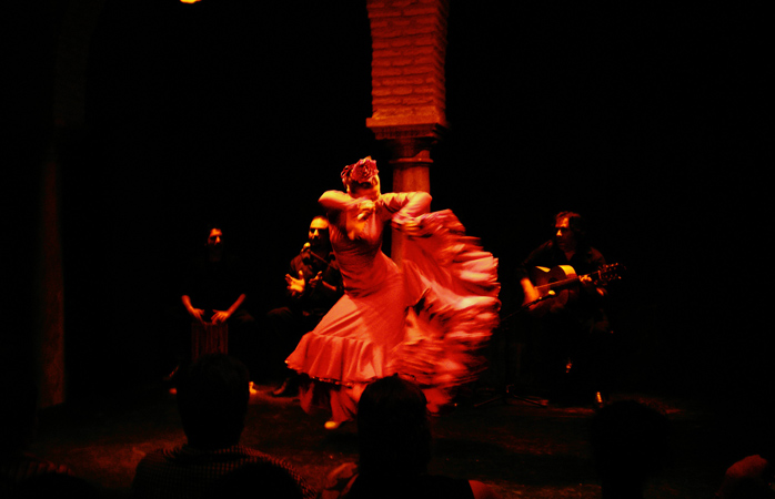 Nenhuma viagem a Sevilha ficaria completa sem ires ver um concerto de flamenco