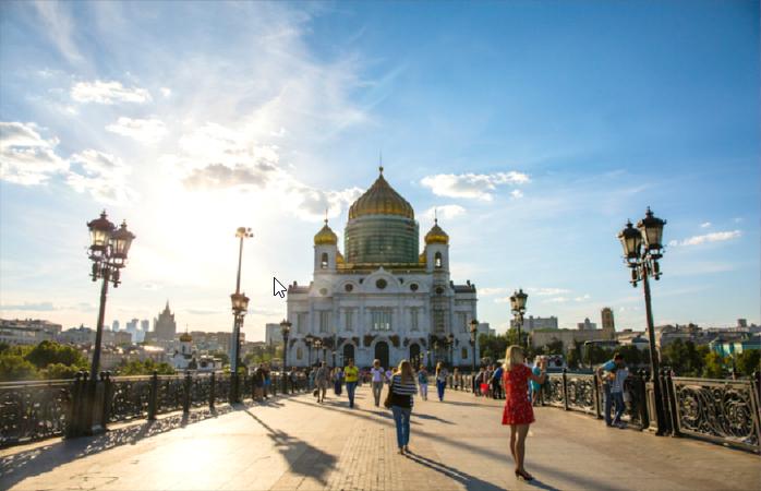 A Catedral de Cristo Salvador em Moscovo. Sítio para passeares antes do jogo da seleção portuguesa.