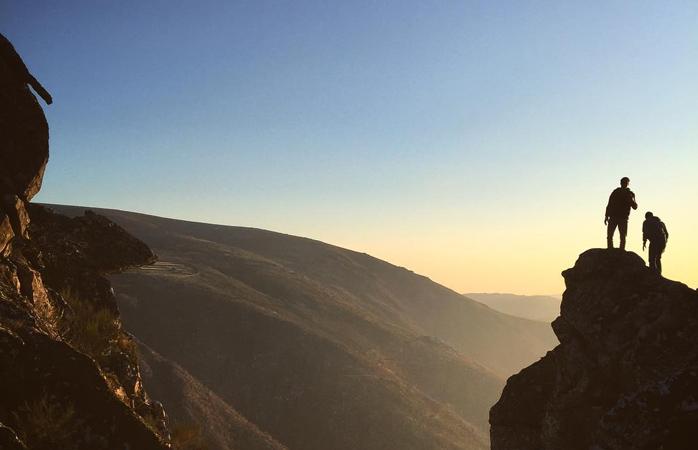 Aproveita o turismo rural na Serra da Freita para veres um por do sol maravilhoso.