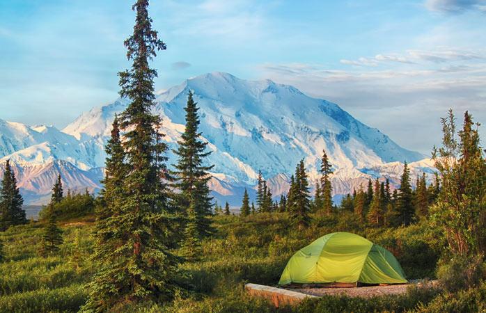 Encontra a melhor vista e monta a tua tenda