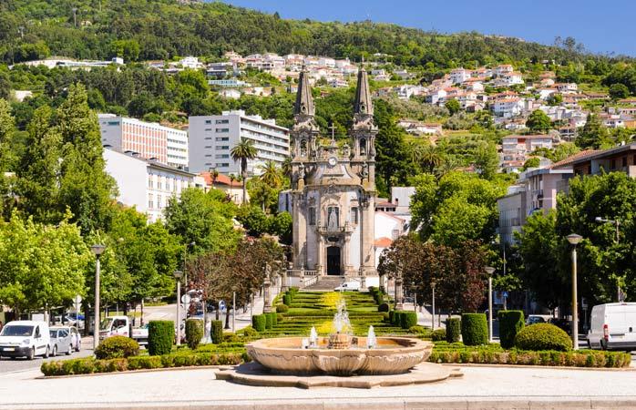 A Igreja de Nossa Senhora da Consolação e Santos Passos, Guimarães, Portugal