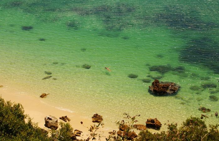 Se praticas mergulho, na praia do Portinho da Arrábida encontrarás as condições perfeitas para o teu hobby favorito.
