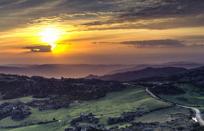 A Serra do Caramulo é sinónimo de ar puro e de águas de grande qualidade.
