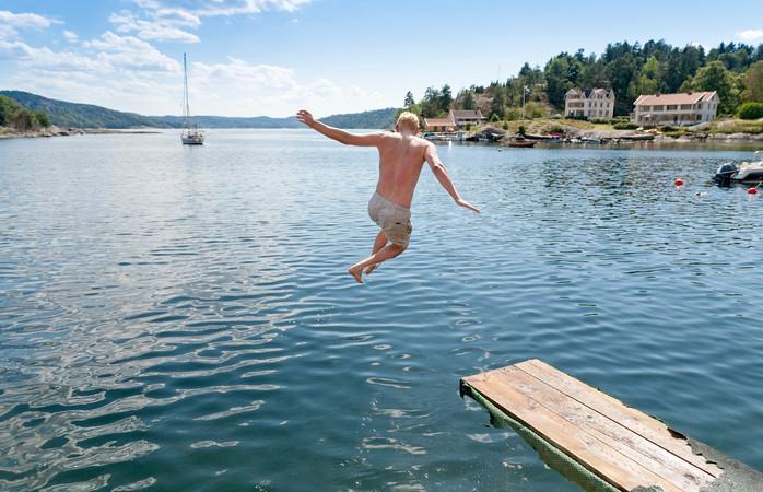 Dias de praia cheios de sol tornam o Verão sueco ainda mais agradável