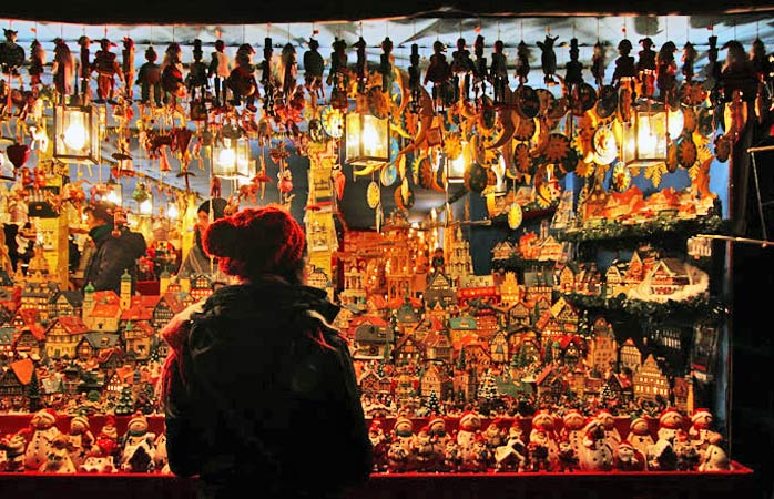 O Christkindlesmarkt de Nuremberga recebe anualmente 2 milhões de visitas