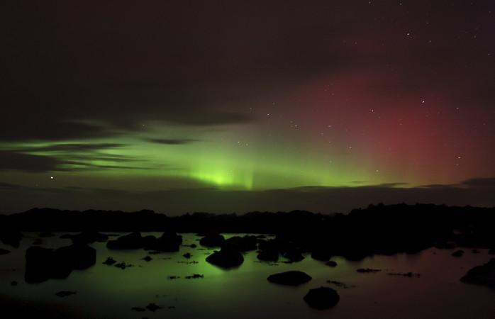 Malin Head proporciona vistas estonteantes enquanto esperas pela Aurora