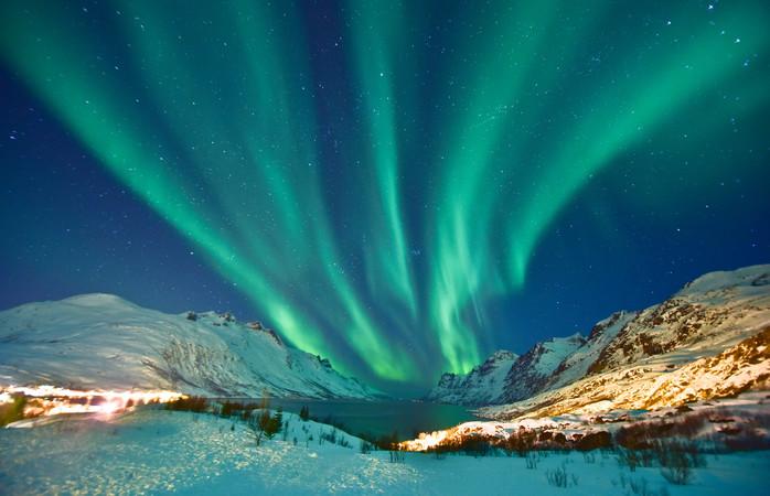 Não é preciso saíres de Tromsø para vislumbrares a beleza da Aurora