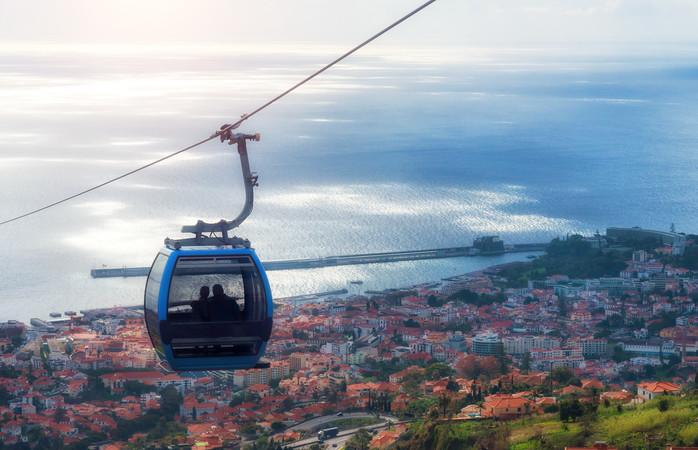 Garantimos que a passagem de ano na Madeira, fica mais clara que aqui.