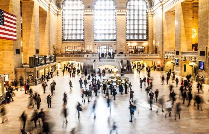 confusão total em Grand Central