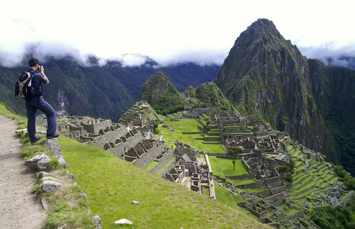 Sobe, sobe, sobe e fotografa a beleza da Machu Picchu