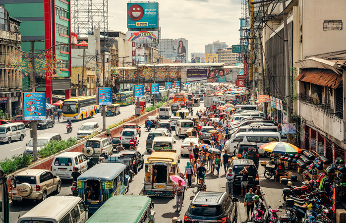 É uma confusão encantadora. Os lugares para visitar em Manila, são muitos e bons.