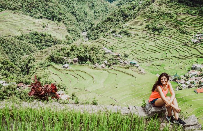 Lá chegou ela a ir às Filipinas