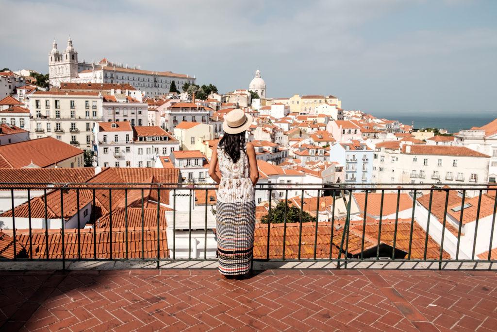 Não há vistas como as de Lisboa