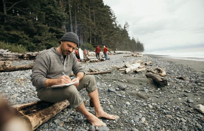 Quando tiveres algo novo para acrescentar, senta-te e escreve o teu CV de viagem.
