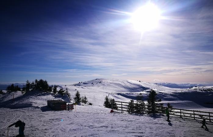 Ski low-cost em Jahorina, Bósnia - O centro de ski de Jahorina, Bósnia