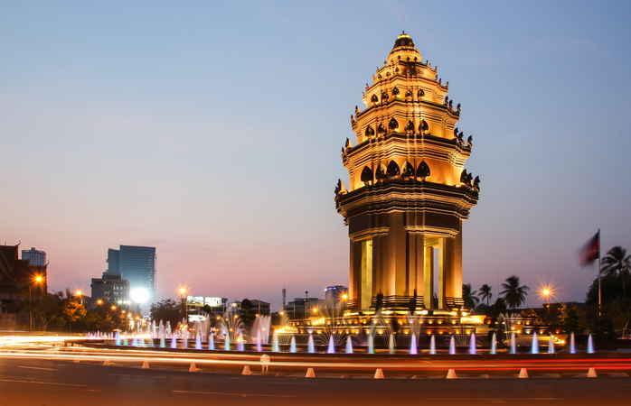 O Camboja sabe celebrar o ano novo – eles fazem-no não menos de três vezes por ano.