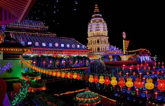Que maravilha seria passar o ano em Penang.