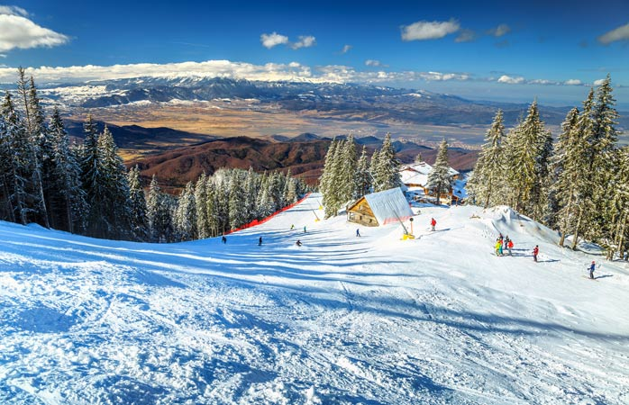 Com vistas assim, é fácil perceber porque é que o ski é tão popular.