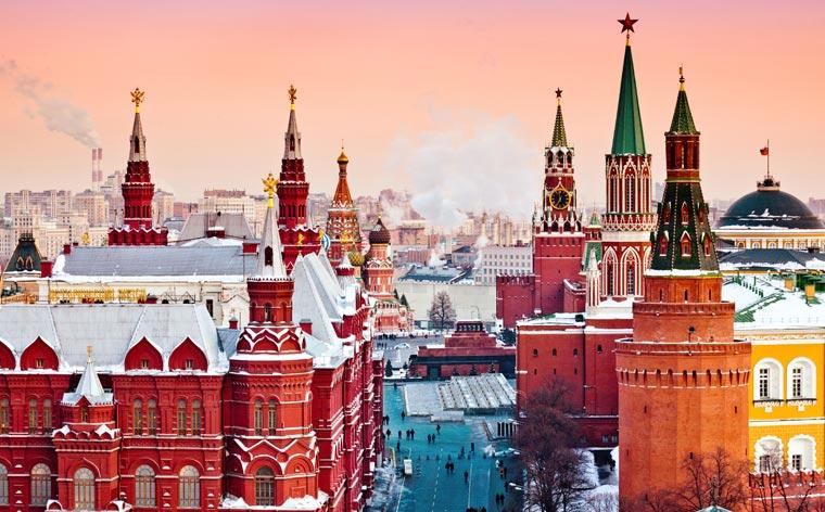 10 razões para visitar Moscovo no inverno
