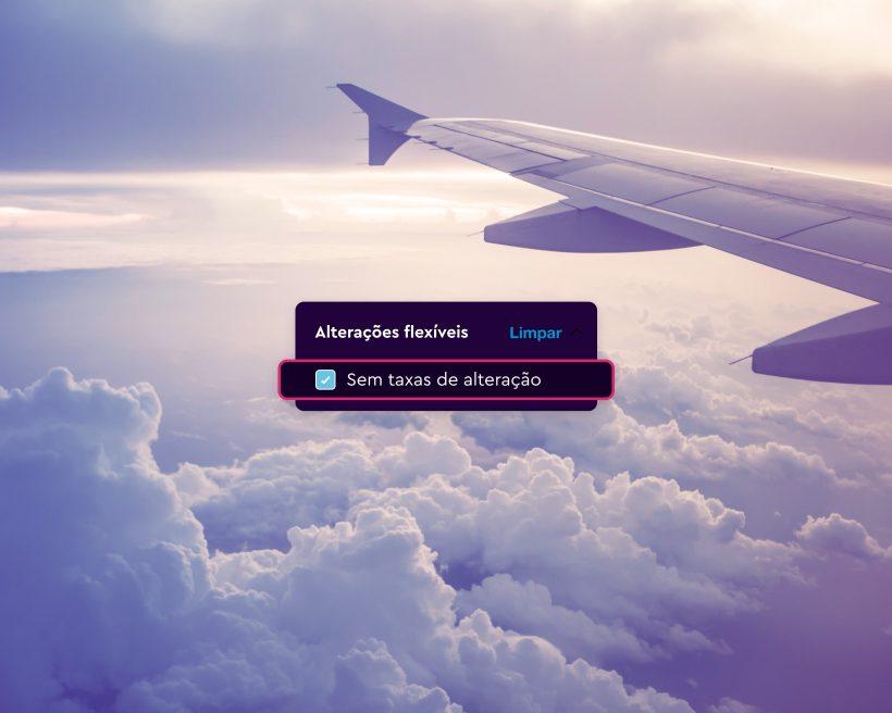 Reserva com tranquilidade: encontra opções de viagem flexíveis